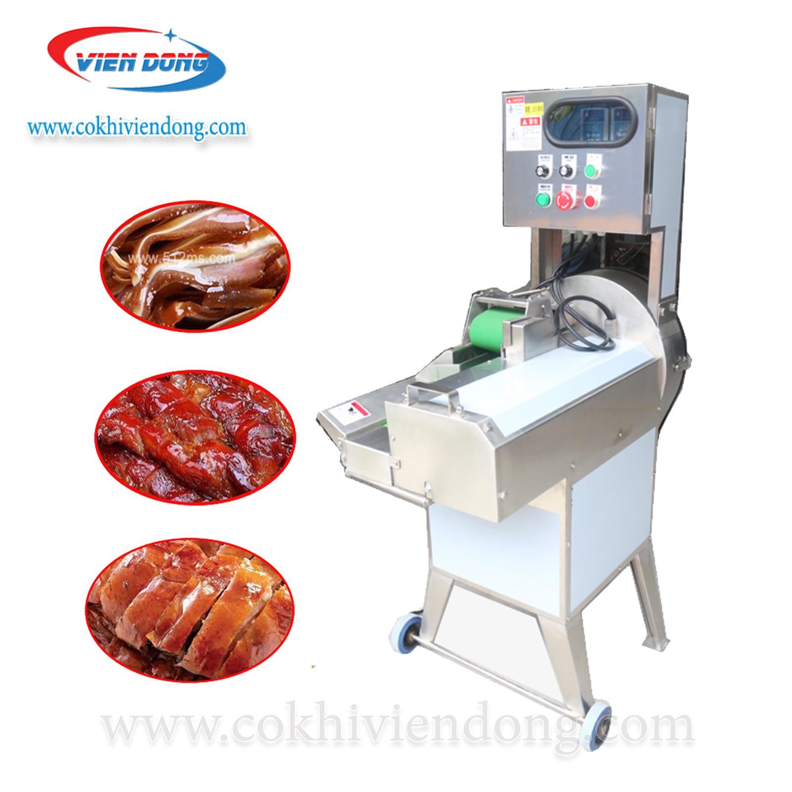 Máy thái thịt chín, bì lợn, tai heo FC-304