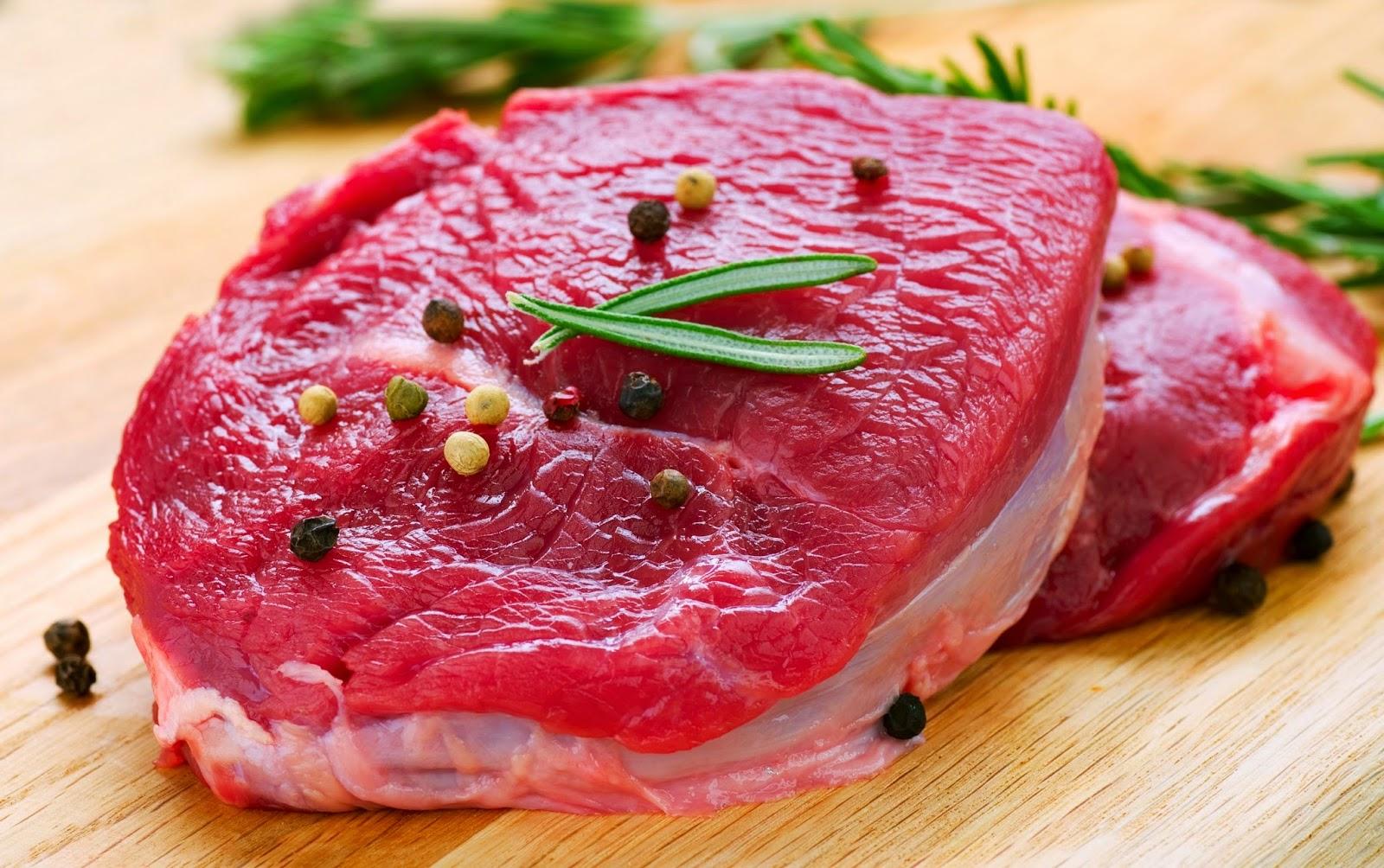 thái thịt bò đúng thớ