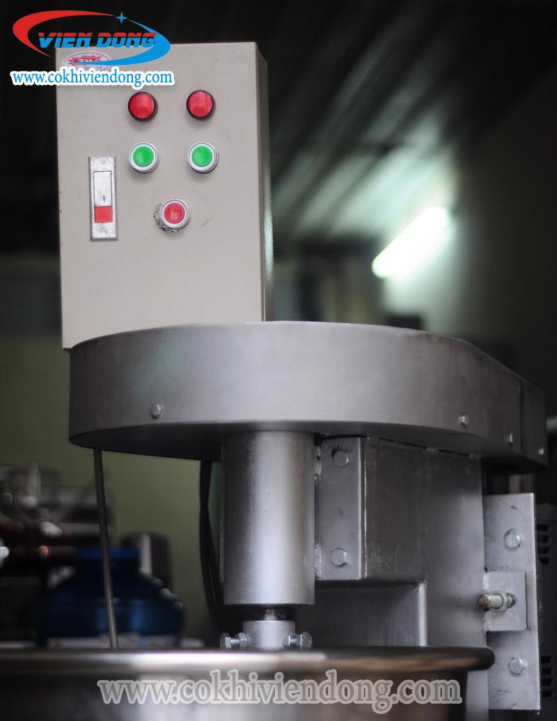 bảng điều khiển máy đánh bột làm bánh Viễn Đông