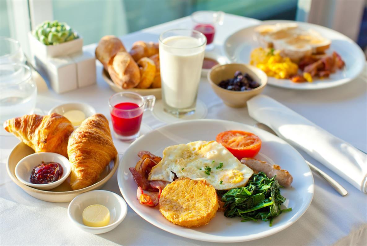 bữa sáng đầy đủ