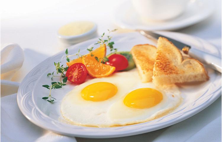 bữa sáng khỏe mạnh
