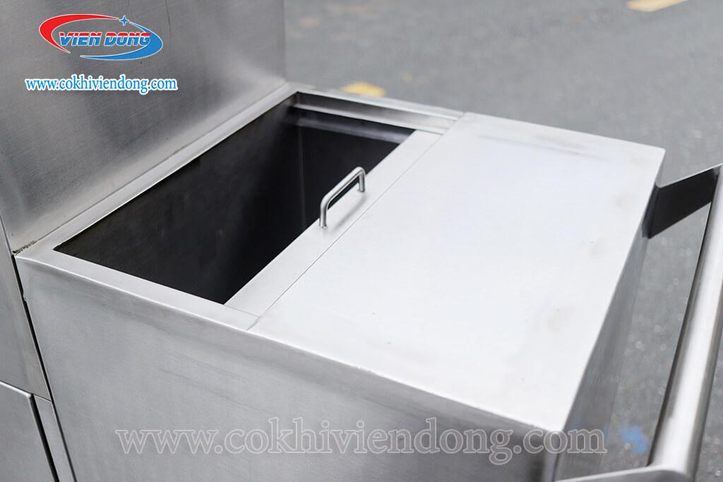 Thiết kế thông minh của thùng chứa đá