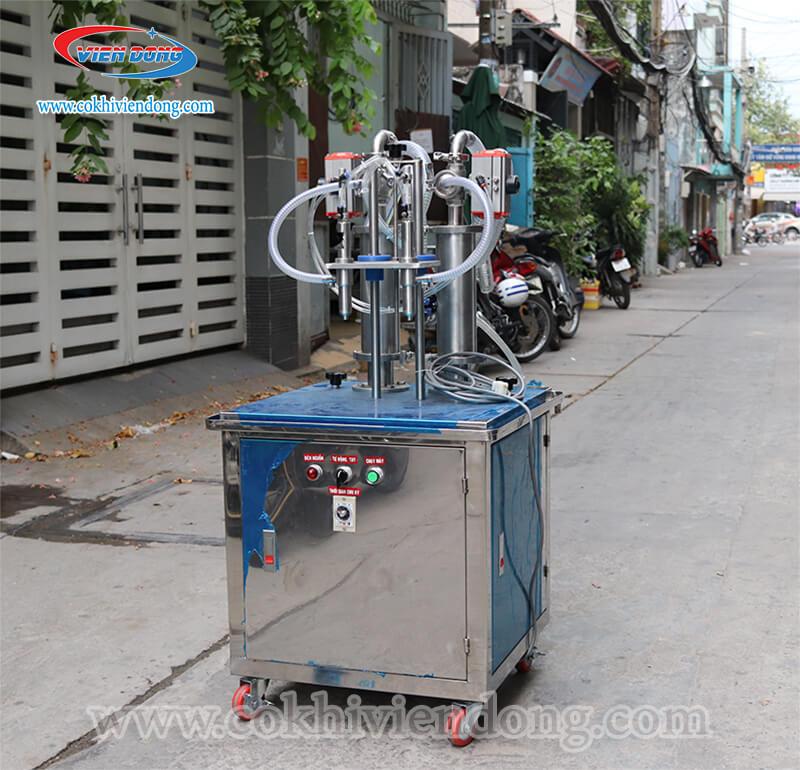 máy chiết rót dung dịch