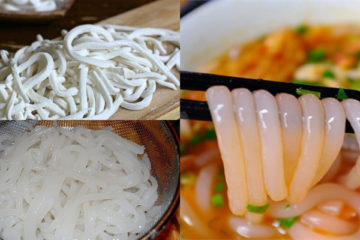 Cách trụng bánh canh bột gạo số lượng lớn không bị dính