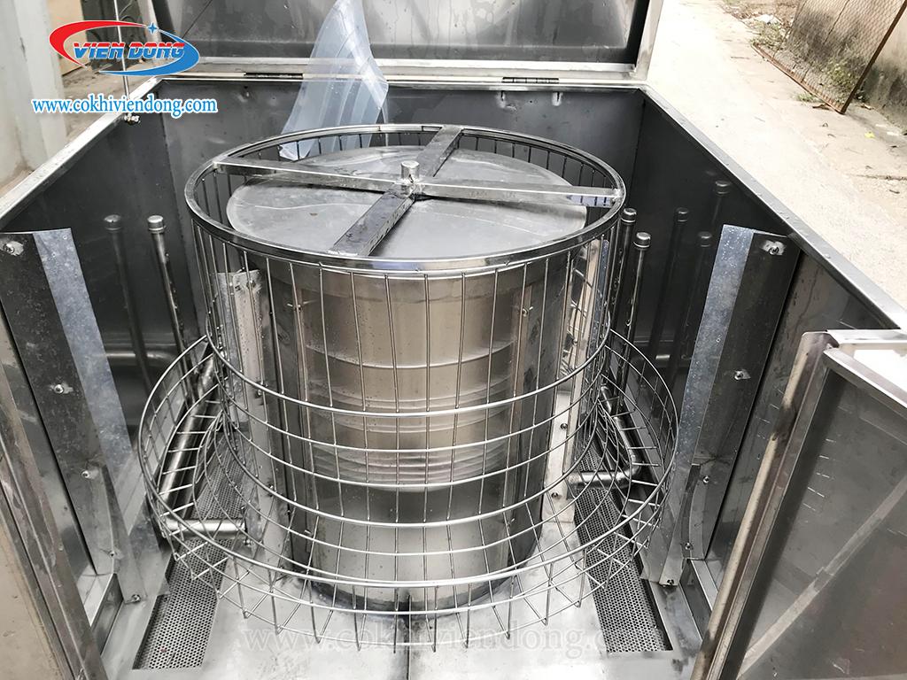 Lồng xoay 360 của máy rửa bát
