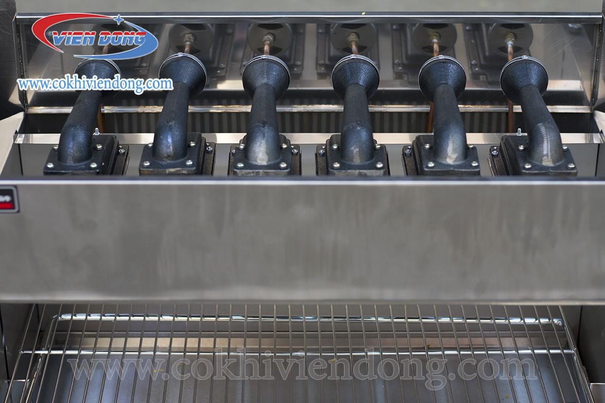 Lò nướng thịt công nghiệp salamander WYG 710