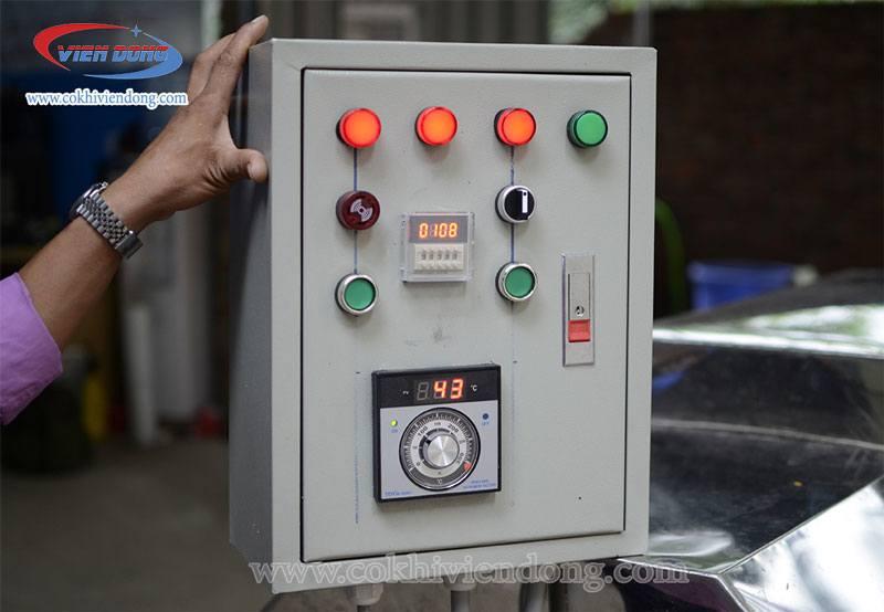 Tủ điều khiển rời của máy rang hạt điều VDR30
