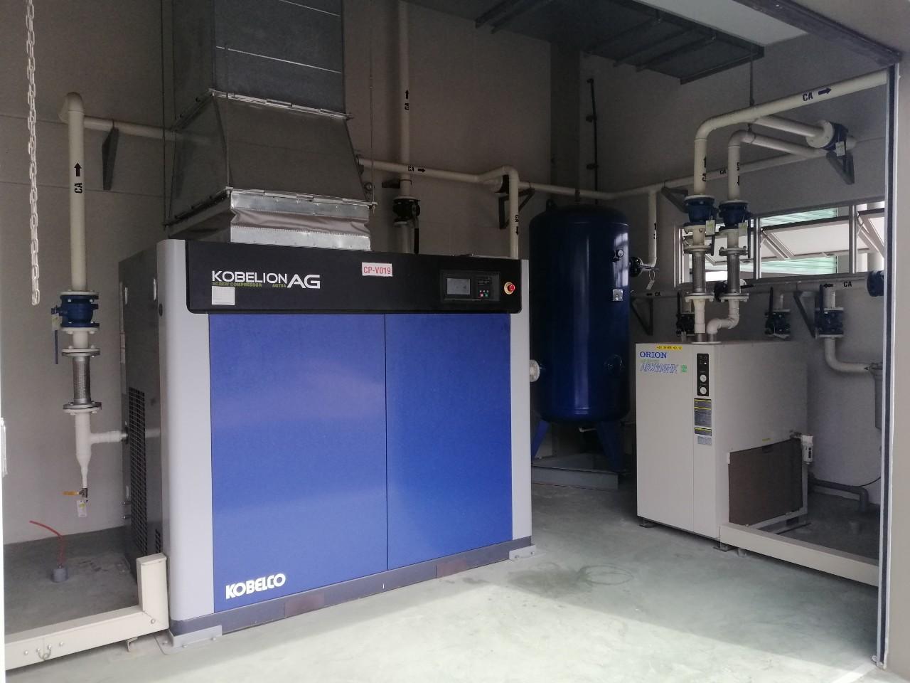 máy nén khí trục vít cao áp