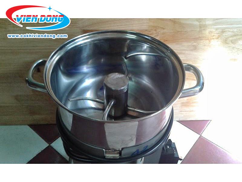 Cách làm chà bông tôm cho bé đơn giản với máy đánh chà bông